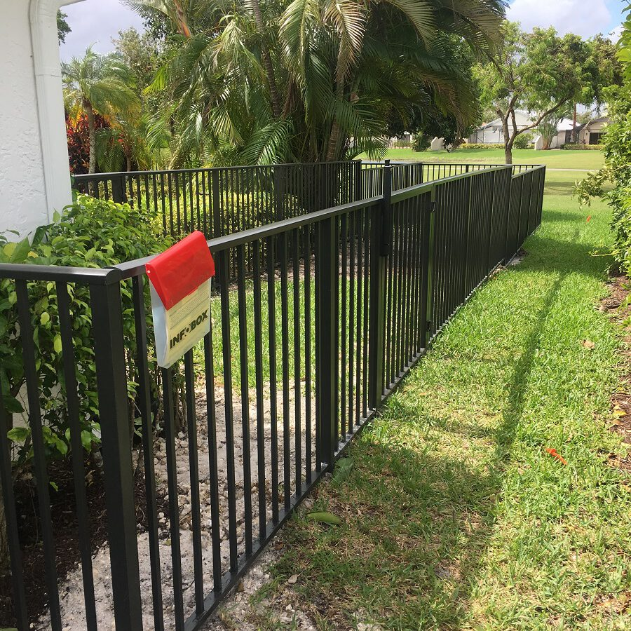 iron fence contractors near me glendale